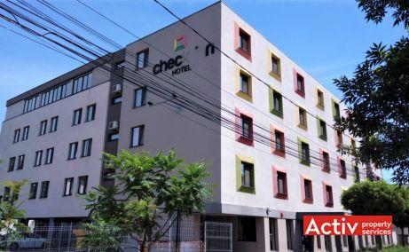 Hotel Check Inn vanzare spatii de birouri Timisoara central imagine fatada