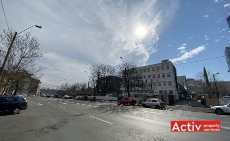 Plevnei 139 spatiu de birouri Bucuresti vest vedere catre bulevard