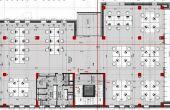 Sinaia 41 cladire de birouri de inchiriat Cluj vest plan cladire