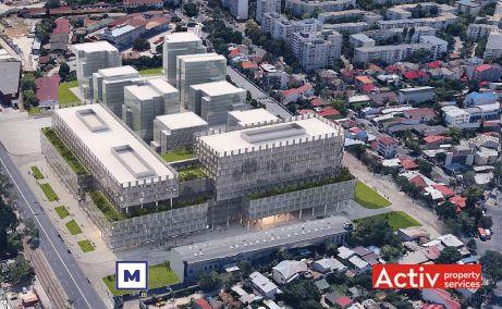 One Cotroceni Park spatii de birouri de inchiriat Bucuresti central imagine amplasament