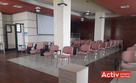 Decebal 17 birouri de inchiriat Cluj central vedere spatiu interior