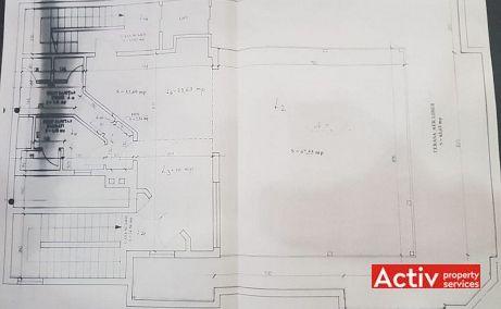 Decebal 17 inchiriere spatii de birouri Cluj central imagine plan