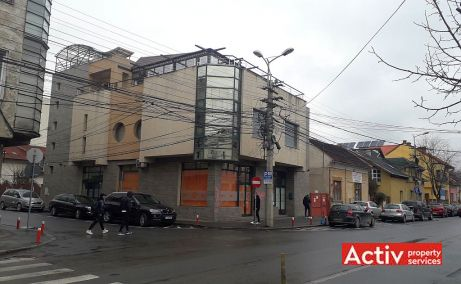 Decebal 17 spatii de birouri de vanzare Cluj central poza cladire