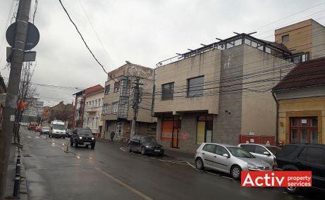 Decebal 17 spatii de birouri de vanzare Cluj central poza laterala