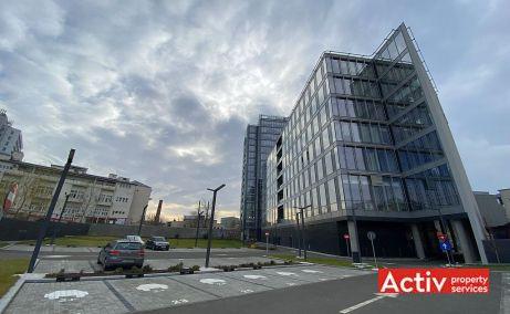 Hotspot inchiriere spatii de birouri Bucuresti central vedere cale de acces