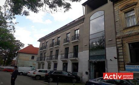 Domus Center birouri de inchiriat Cluj central vedere spatiu lateral