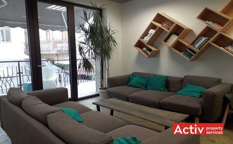 Domus Center birouri de inchiriat Cluj central vedere spatiu interior