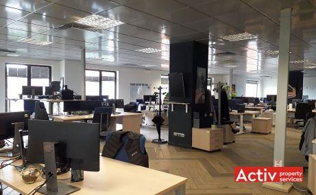 Domus Center cladire de birouri de inchiriat Cluj central vedere spatiu interior