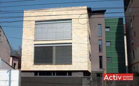 Porumbescu 12 închiriere birouri Timișoara vederere fatada