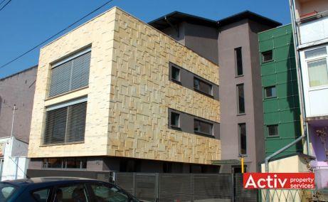 Porumbescu 12 închiriere birouri Timișoara vederere lateral