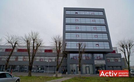 Electrotimiș spații de birouri Timișoara fotografie fațadă