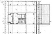 Clădirea Electrotimiș - plan etaj. Spațiul de birouri este de aproximativ ........ m2 / etaj.