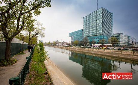 Riverplace birouri de inchiriat Bucuresti vest imagine laterala