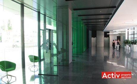 Riverplace inchiriere spatii de birouri Bucuresti vest vedere spatiu interior