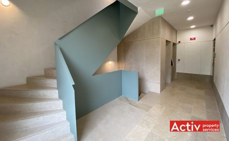 Splay spatii de birouri Bucuresti central vedere spatiu interior