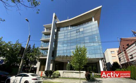 Centrul Tiriac birouri de inchiriat Bucuresti nord poza cladire