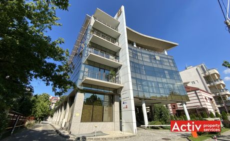 Centrul Tiriac birouri de inchiriat Bucuresti nord imagine cladire
