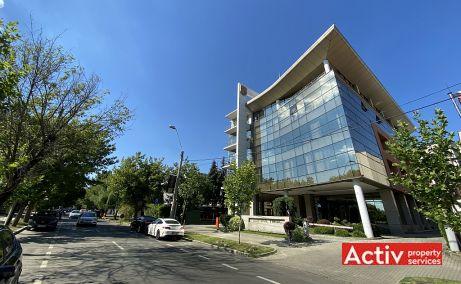 Centrul Tiriac birouri de inchiriat Bucuresti nord vedere cale de acces