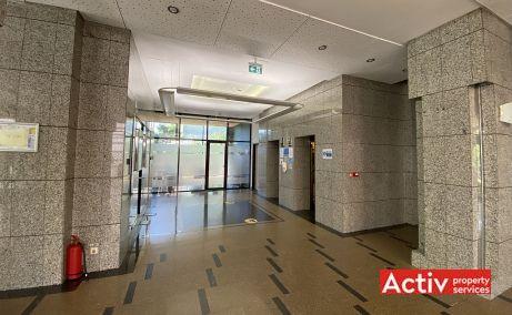 Centrul Tiriac cladire de birouri de inchiriat Bucuresti nord vedere spatiu interior
