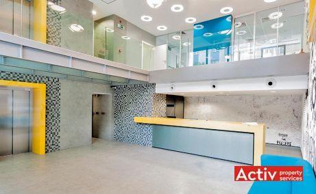 CSDA inchiriere spatii de birouri Bucuresti nord vedere spatiu interior