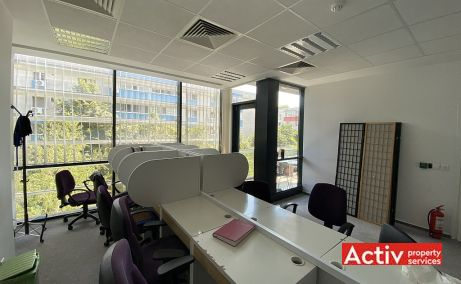 CSDA birouri de inchiriat Bucuresti nord vedere spatiu interior