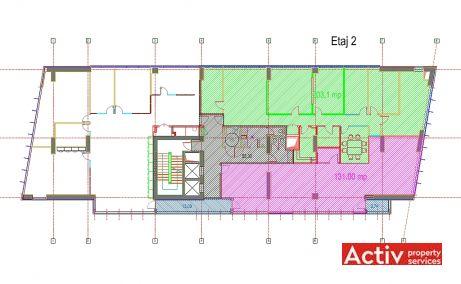 CSDA birouri de inchiriat Bucuresti nord [plan etaj