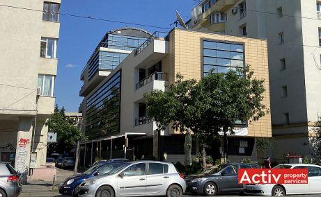 Barbu Vacarescu 42A cladire de birouri de inchiriat Bucuresti nord imagine laterala