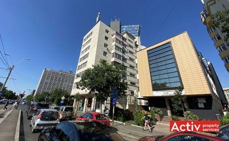Barbu Vacarescu 42A inchiriere spatii de birouri Bucuresti nord poza bulevard