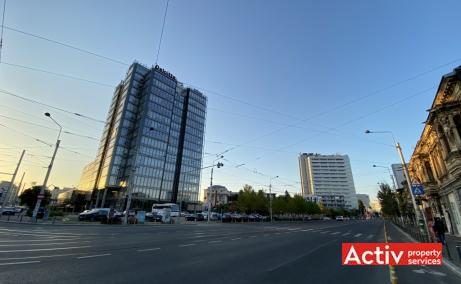 The Mark birouri de inchiriat Bucuresti central poza acces bulevard