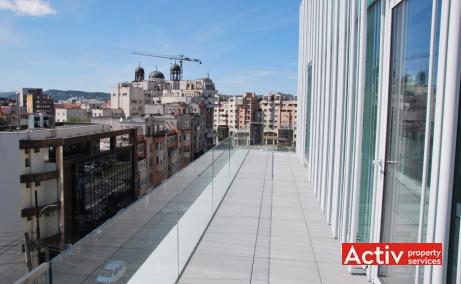 Brancusi 21 spatii de birouri de inchiriat Cluj central poza terasa