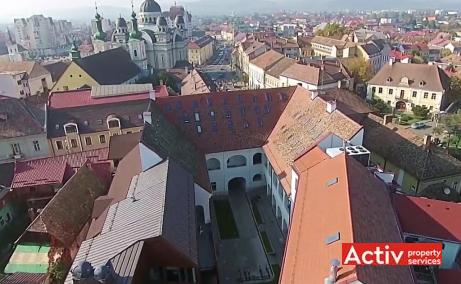 CSDA Bornemisza spatii de inchiriat Targu Mures central peisaj cladire