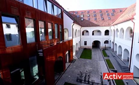 CSDA Bornemisza spatii de inchiriat Targu Mures central poza acces cladire