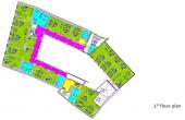 CSDA Bornemisza inchiriere spatii de birouri Targu Mures central vedere plan