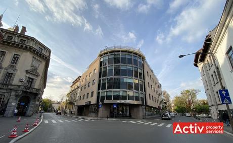 Budisteanu Center spatii de birouri de inchiriat Bucuresti central poza cladire