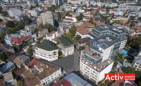 Villa Rosetti spatii de birouri de inchiriat Bucuresti central poza amplasament