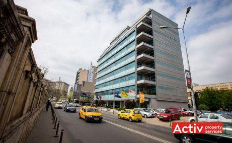 Forum III spații birouri zona centrală vedere din strada Izvor