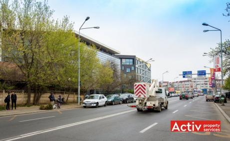 Gabrielle Center spatii de birouri de inchiriat Bucuresti nord poza cale acces