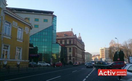 Cristiana Business Center birouri de inchiriat Brasov central imagine laterala