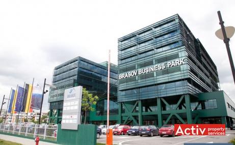 Brasov Business Park birouri de inchiriat Brasov sud poza laterala