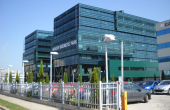Brasov Business Park spatii de birouri de inchiriat Brasov sud vedere laterala