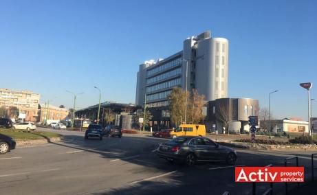 Kronsoft spatii de birouri de inchiriat Brasov sud poza laterala