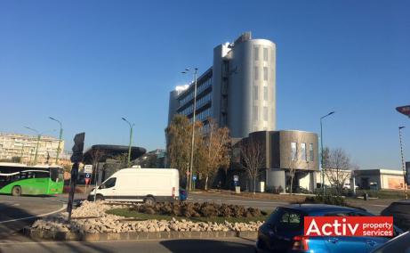 Kronsoft spatii de birouri de inchiriat Brasov sud cale acces cladire