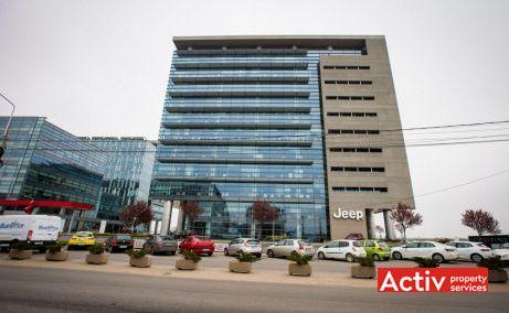 Global City Business Park este alcătuit din două clădiri de birouri clasă A, are o suprafaţă construită de 56.000 mp şi un total de spaţii de închiriat de de 51.000 mp.