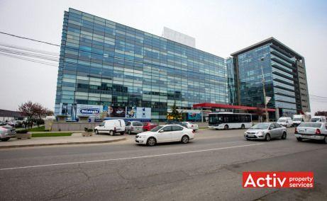Global City spațiu de birouri Pipera imagine din sos București Nord