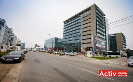 Global City spații birouri nord Pipera, vedere încadrare în zonă