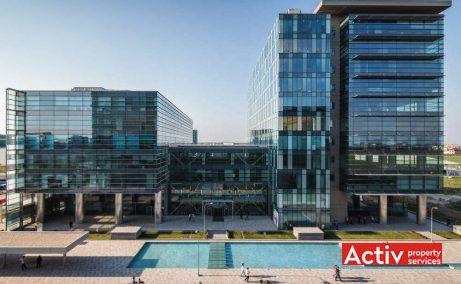 Global City închirieri spații birouri București nord, vedere aeriană