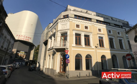 Baratiei 41-43 spatii de birouri de inchiriat Bucuresti central vedere cladire