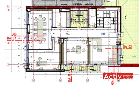 Metalurgiei 81B spatii de birouri de vanzare Bucuresti sud imagine plan 3