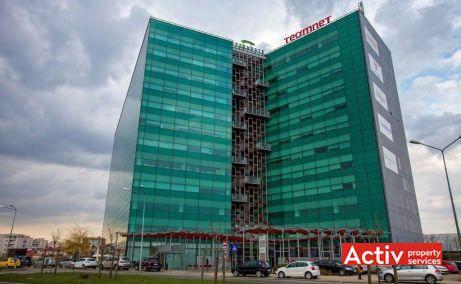 Green Gate închiriere birouri centru perspectivă încadrare în zonă