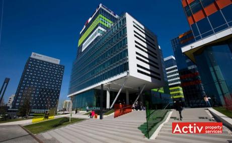 Green Court spatii de birouri de inchiriat Bucuresti nord imagine cale de acces